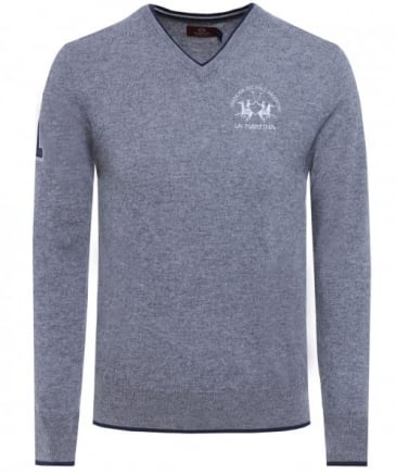 Lambswool V-Neck Anton Jumper