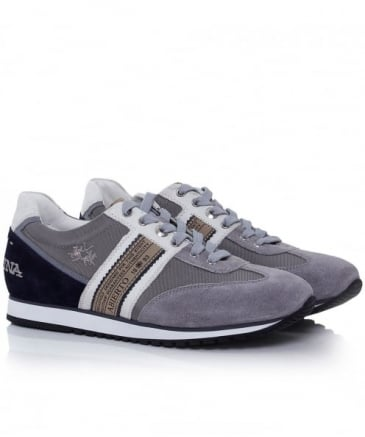 Leather Camoscio Thesi Trainers