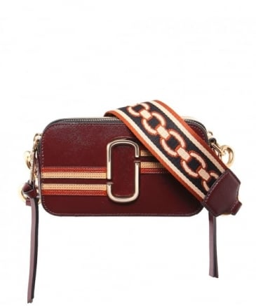 Contrast Stripe Snapshot Camera Bag