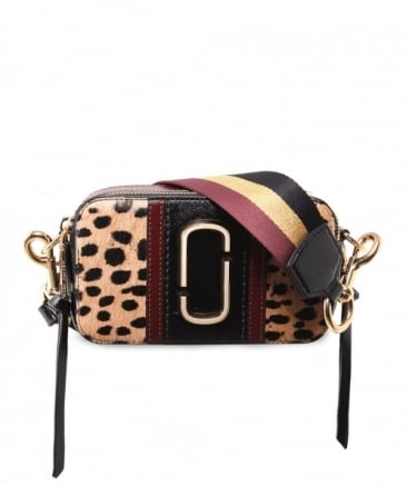 Leopard Small Snapshot Camera Bag