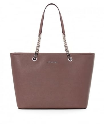 Jet Set Chain Travel Tote Bag