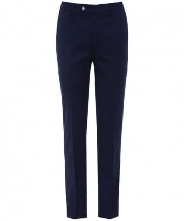 Slim Fit Silk Blend Lupus Trousers