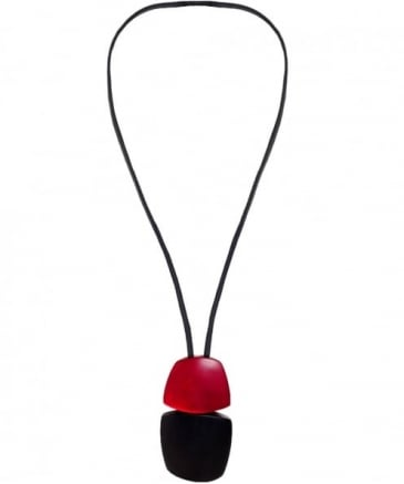 Long Pendant Ebony Necklace