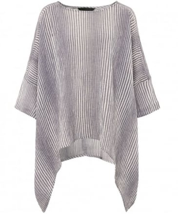 Textured Striped Top
