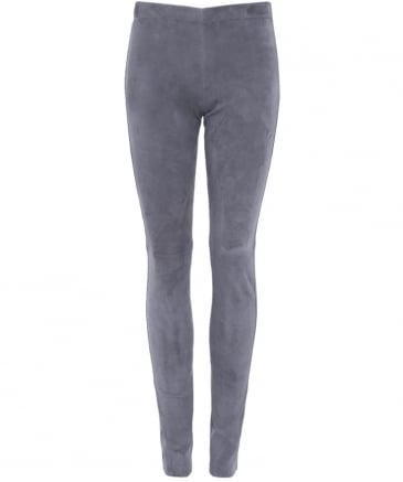 Asteroid Suede Leggings