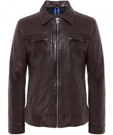 Leather Harper Jacket