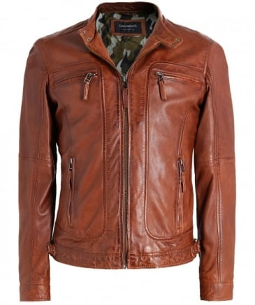 Leather Casey Jacket