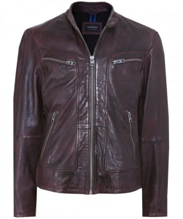 Leather Actor Jacket