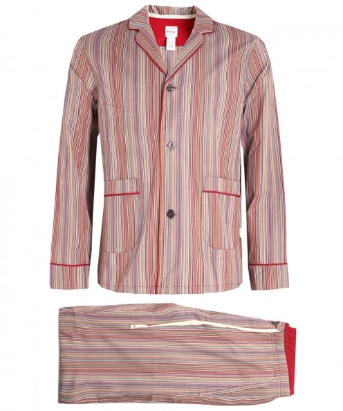 Paul Smith gestreiften Pyjama-set