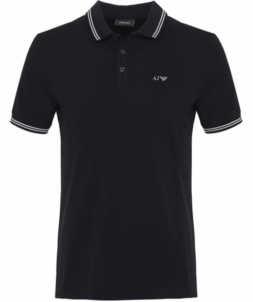 Armani Jeans Twin-tipped Polo-shirt