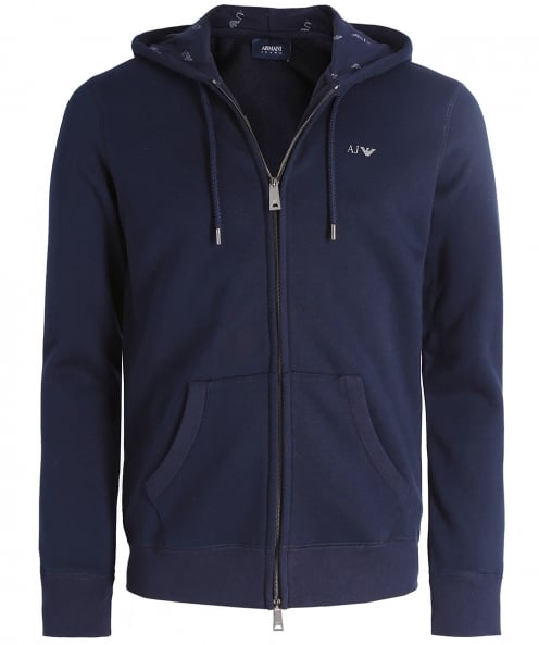Armani Jeans ZIP-through hoodie
