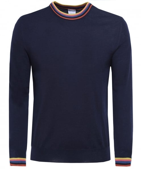 Paul Smith Merino Wolle Pullover