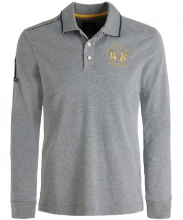 Long Sleeve Stefano Polo Shirt
