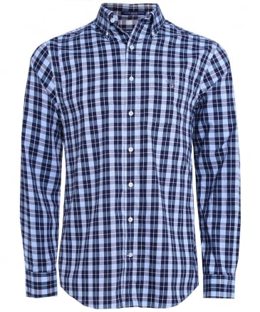 Regular Fit Heather Oxford Shirt