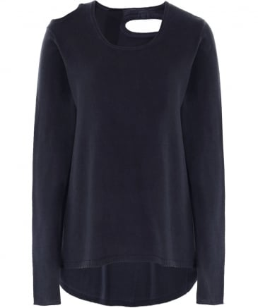 Jersey Cut Out Jumper