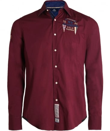 Embroidered Henerson Shirt