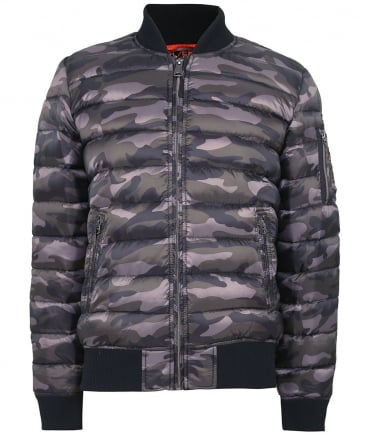 Light Down Norfolk Bomber Jacket
