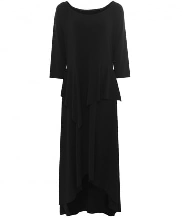 Jane Peplum Maxi Dress