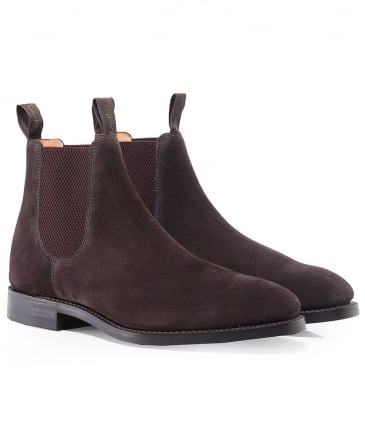 Suede Chatsworth Chelsea Boots
