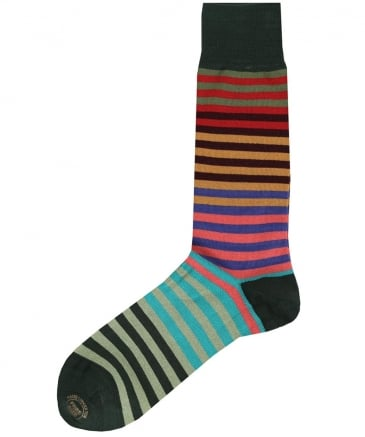 Fade Striped Socks