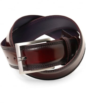 Burnished Cordovan Belt