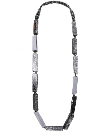Long Square Column Necklace