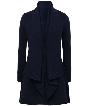 Pleated Waterfall Jacket