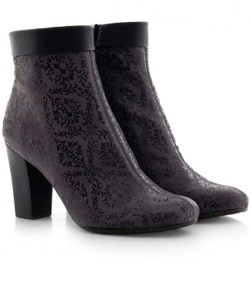 Suede Abby Ankle Boots