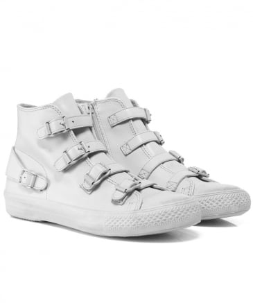 Leather Venus Buckle Trainers