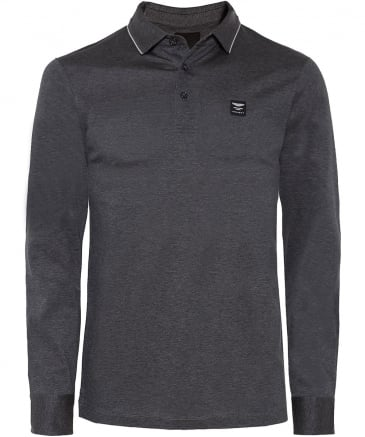 Long Sleeve AMR Polo Shirt
