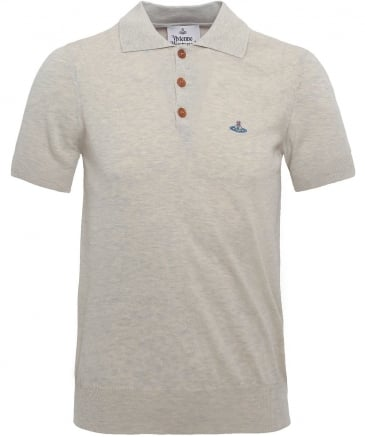 Knitted Cotton Spring Polo Shirt