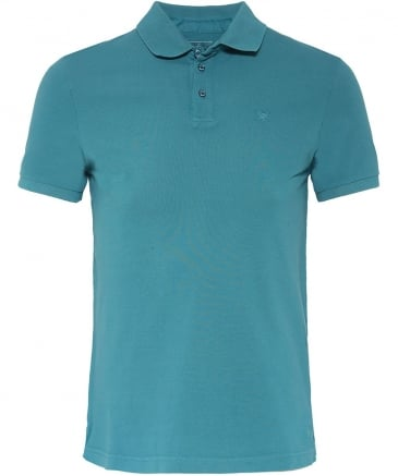 Slim Fit Garment Dyed Polo Shirt