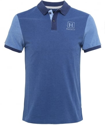 Pique Colourblock Polo Shirt