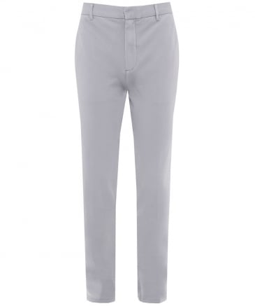 Stretch Cotton Pique Trousers