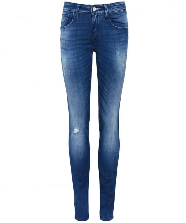 Low Rise Jocelyn Skinny Jeans