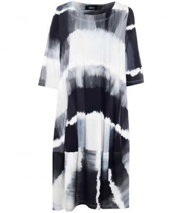 Bimse Tie Dye Midi Dress