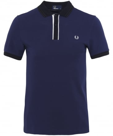 Tipped Placket Polo Shirt