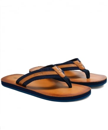 Leather Breeze Flip Flops