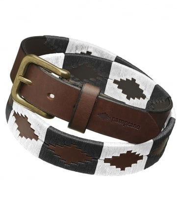 Leather Magdalen College Polo Belt