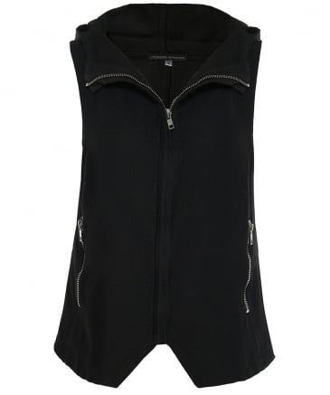 Hooded Cotton Gilet
