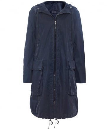 Washed Cotton Berrin Coat