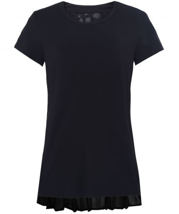 Jersey Pleated T-Shirt