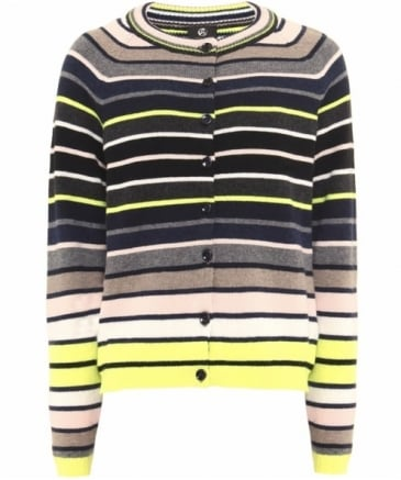 Lambswool Stripe Cardigan