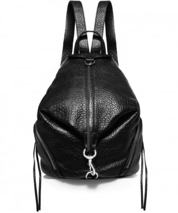 Pebbled Leather Julian Backpack
