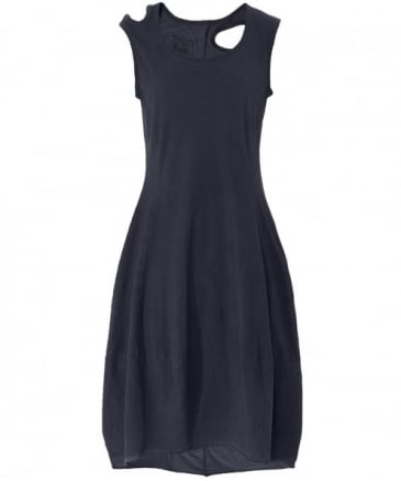 Sleeveless Cut Out Jersey Dress