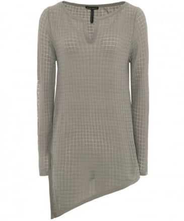 Square Weave Asymmetric Top