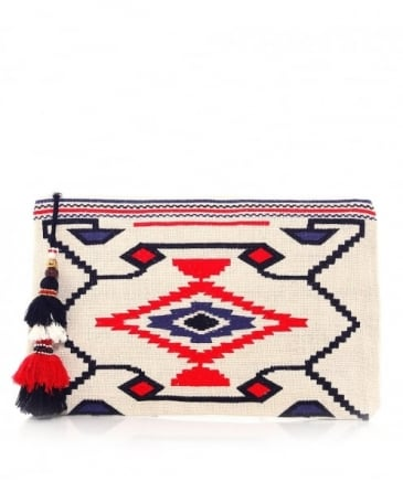 Embroidered Totsi Purse
