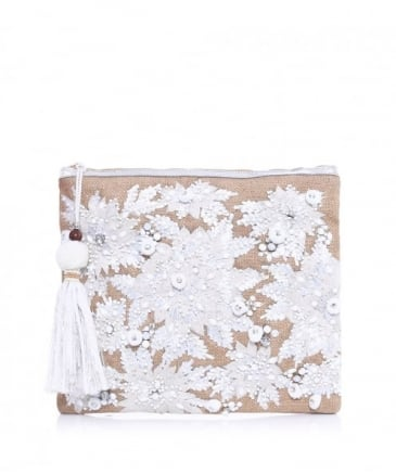 Embroidered Mansi Clutch Bag