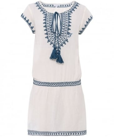 Embroidered Smiti Summer Dress