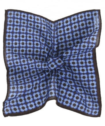 Patterned Wool Pocket Square